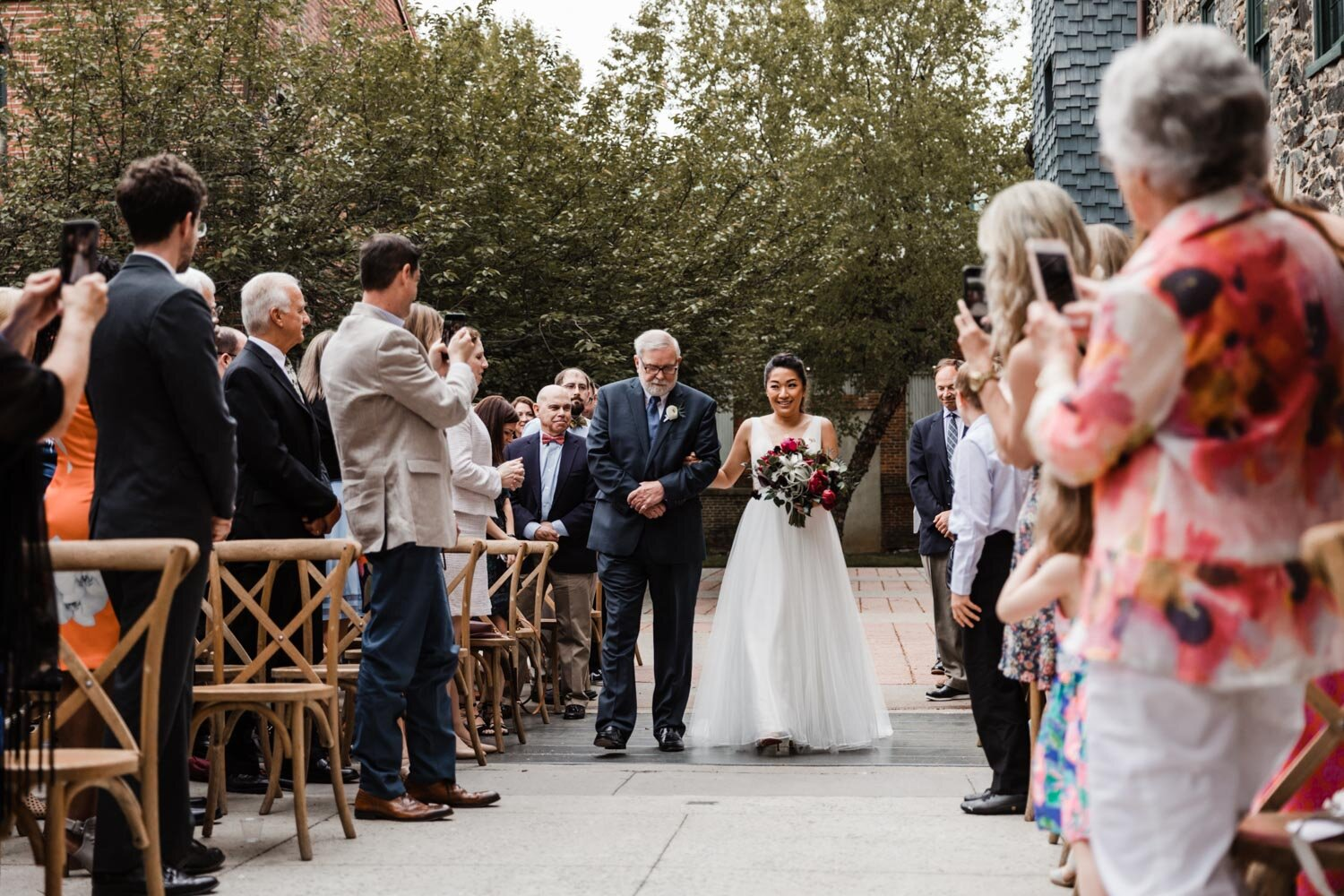 Mt Washington Mill Dye House industrial Baltimore wedding by Barbara O Photography-28.jpg