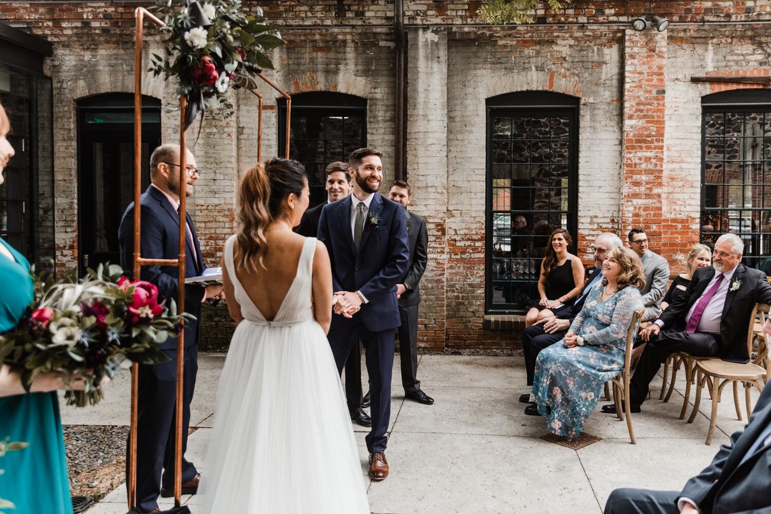 Mt Washington Mill Dye House industrial Baltimore wedding by Barbara O Photography-30.jpg