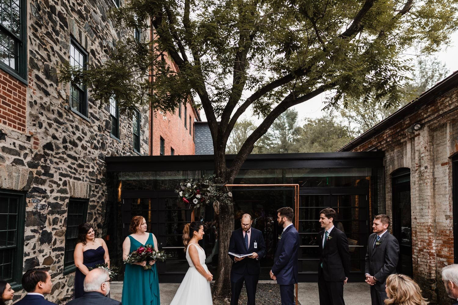 Mt Washington Mill Dye House industrial Baltimore wedding by Barbara O Photography-31.jpg