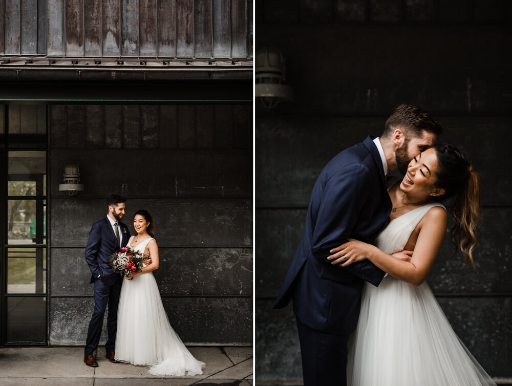 Mt Washington Mill Dye House industrial Baltimore wedding by Barbara O Photography-55.jpg