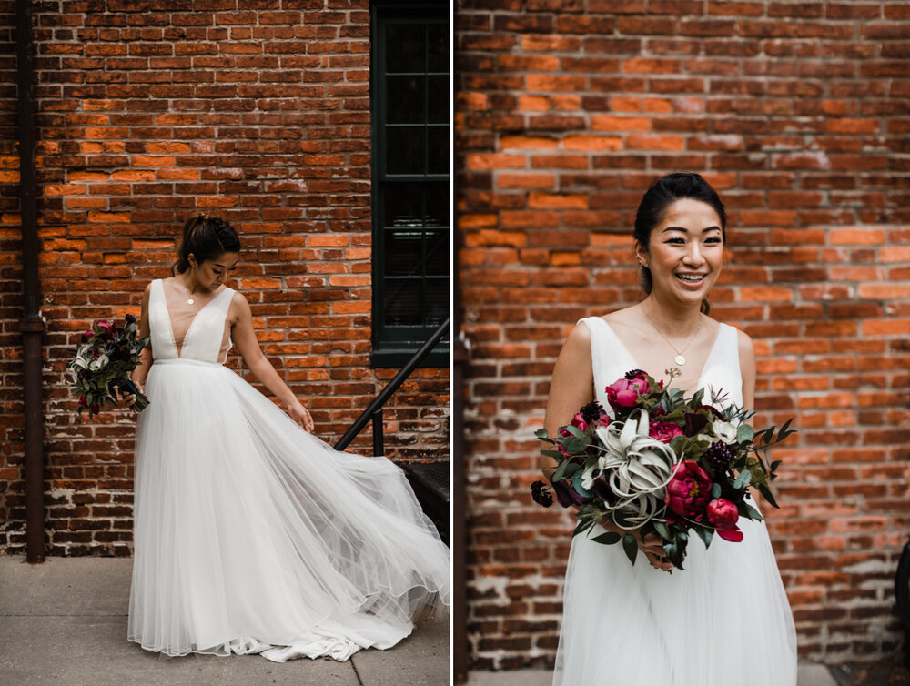Mt Washington Mill Dye House industrial Baltimore wedding by Barbara O Photography-56.jpg