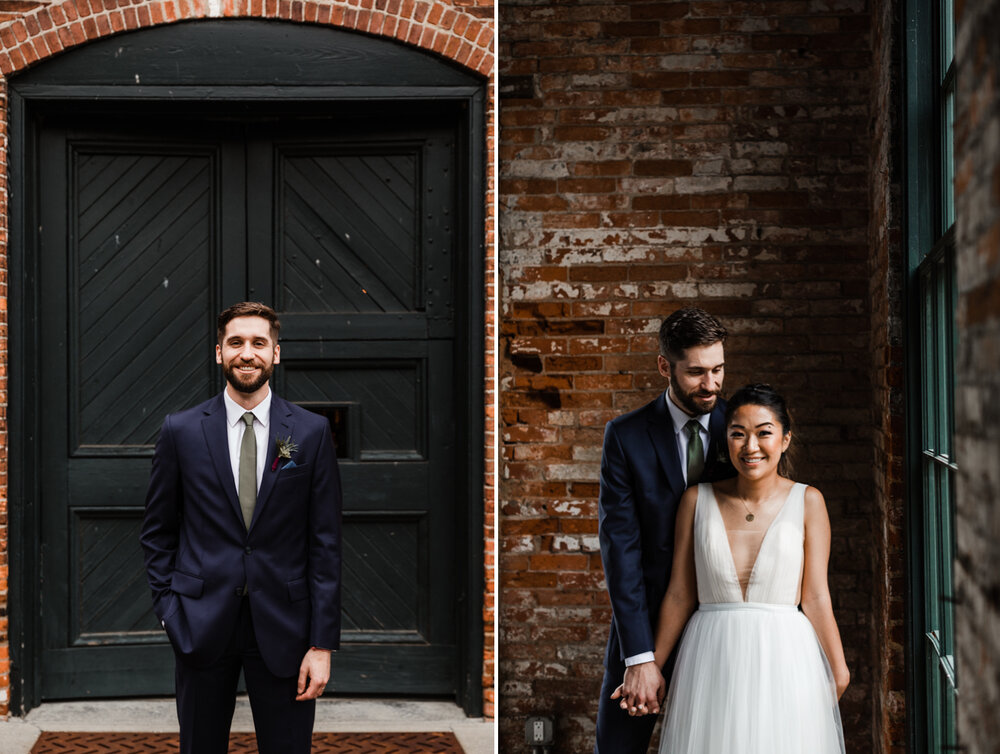 Mt Washington Mill Dye House industrial Baltimore wedding by Barbara O Photography-57.jpg