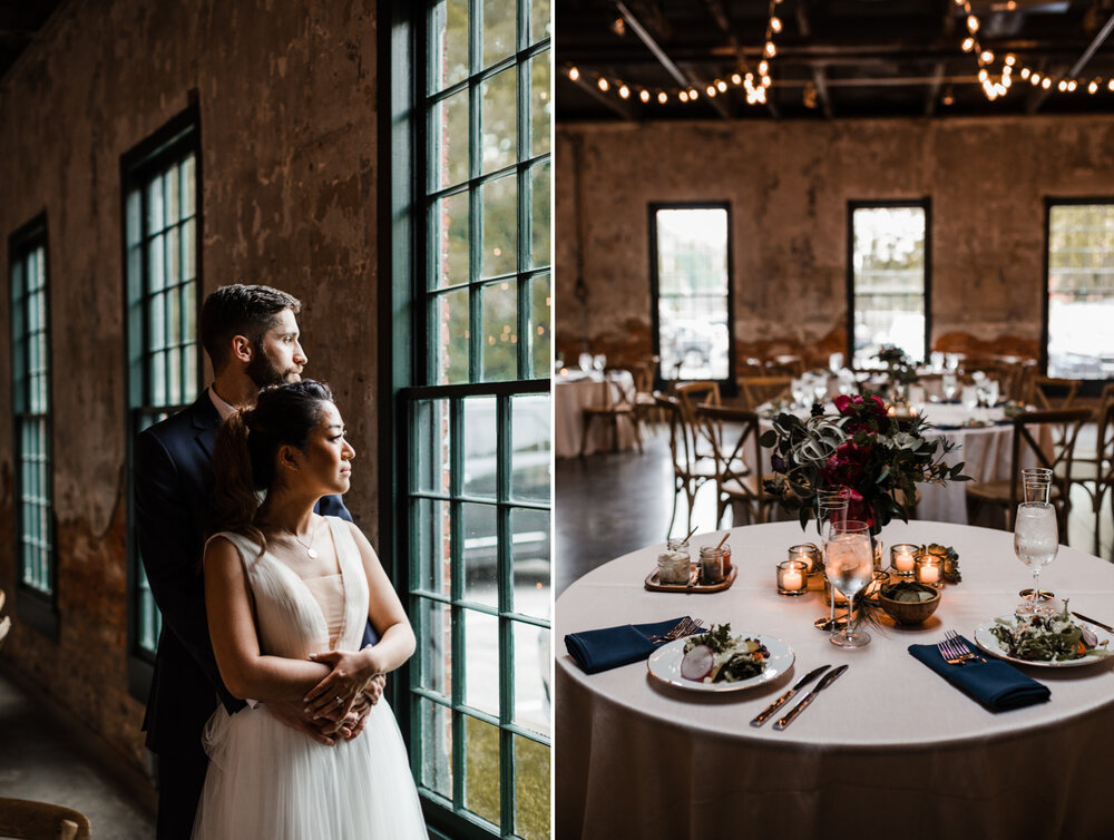 Mt Washington Mill Dye House industrial Baltimore wedding by Barbara O Photography-81.jpg