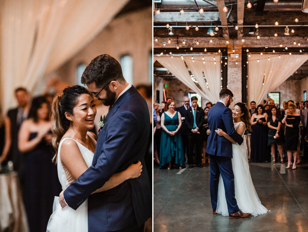 Mt Washington Mill Dye House industrial Baltimore wedding by Barbara O Photography-84.jpg