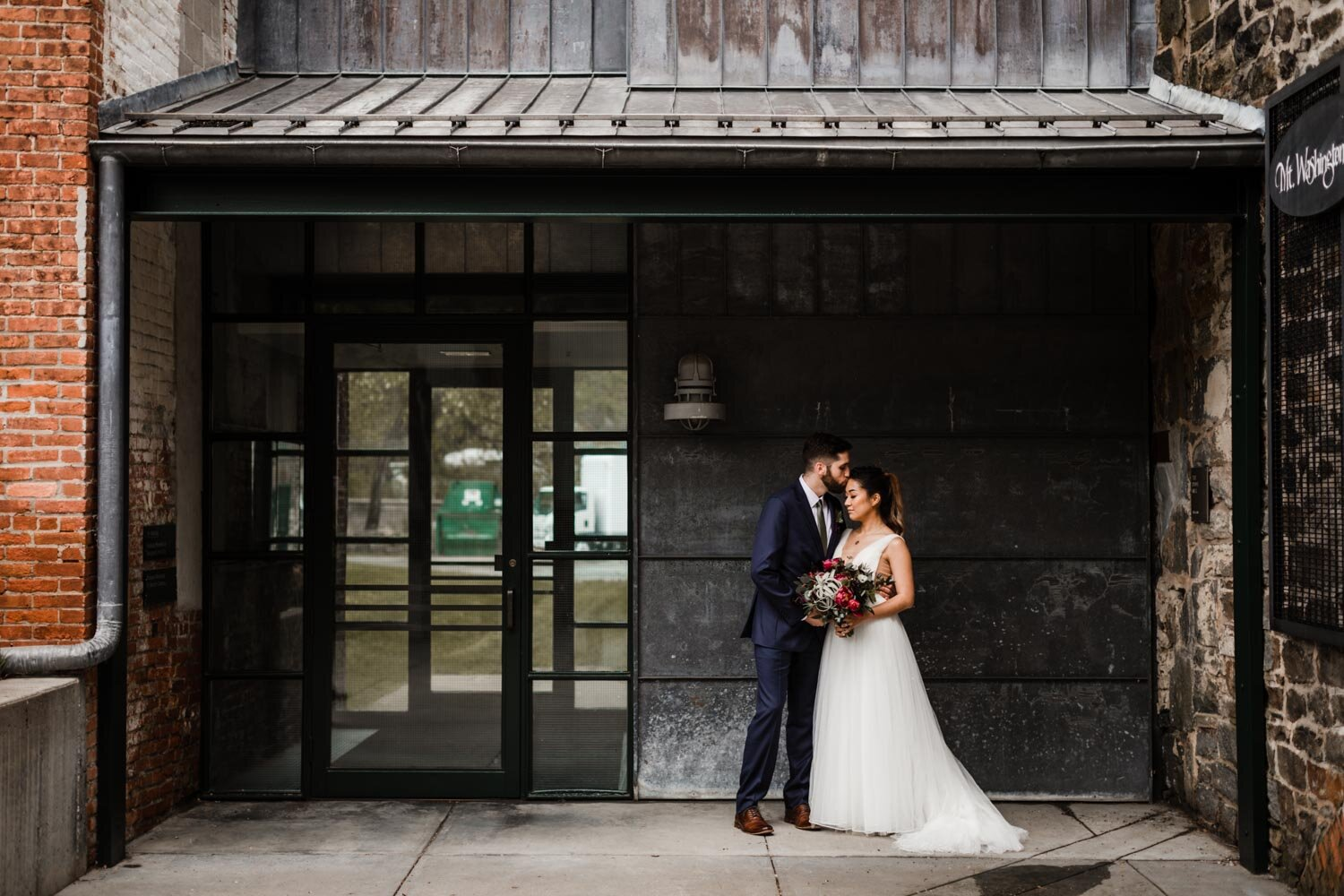 Mt Washington Mill Dye House industrial Baltimore wedding by Barbara O Photography-131.jpg