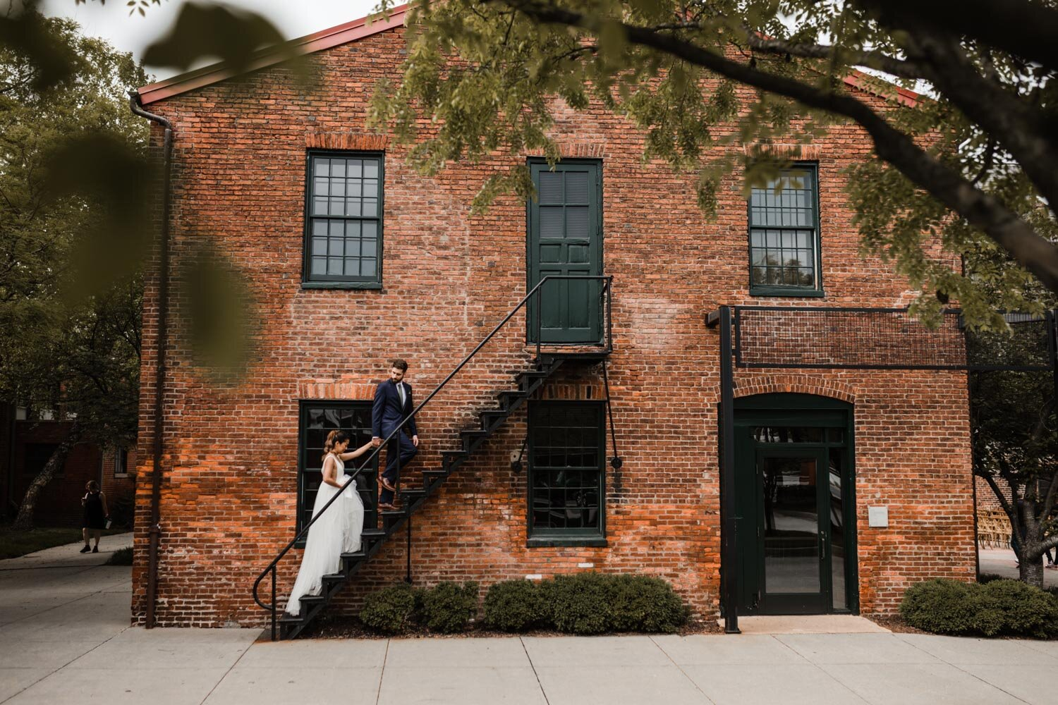 Mt Washington Mill Dye House industrial Baltimore wedding by Barbara O Photography-134.jpg