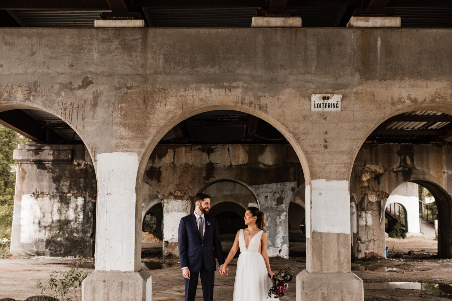 Mt Washington Mill Dye House industrial Baltimore wedding by Barbara O Photography-141.jpg