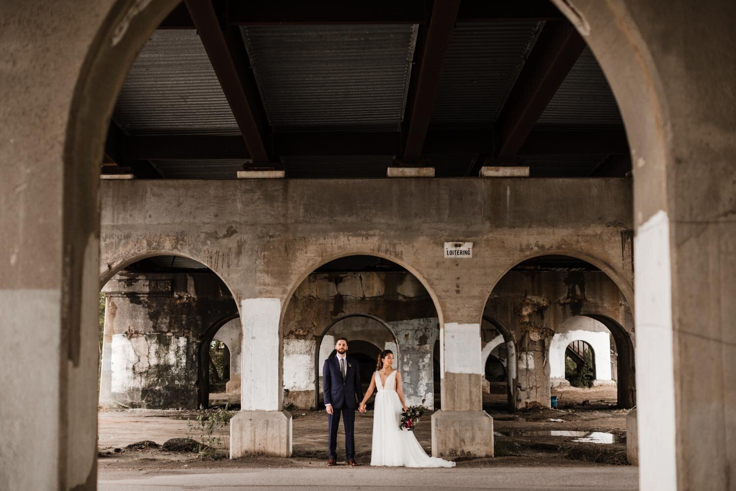 Mt Washington Mill Dye House industrial Baltimore wedding by Barbara O Photography-143.jpg