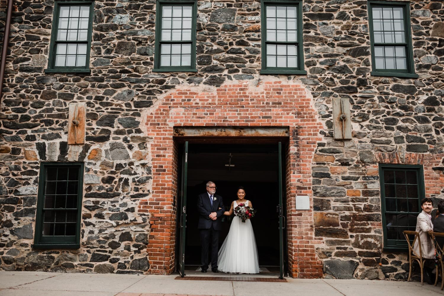 Mt Washington Mill Dye House industrial Baltimore wedding by Barbara O Photography-180.jpg