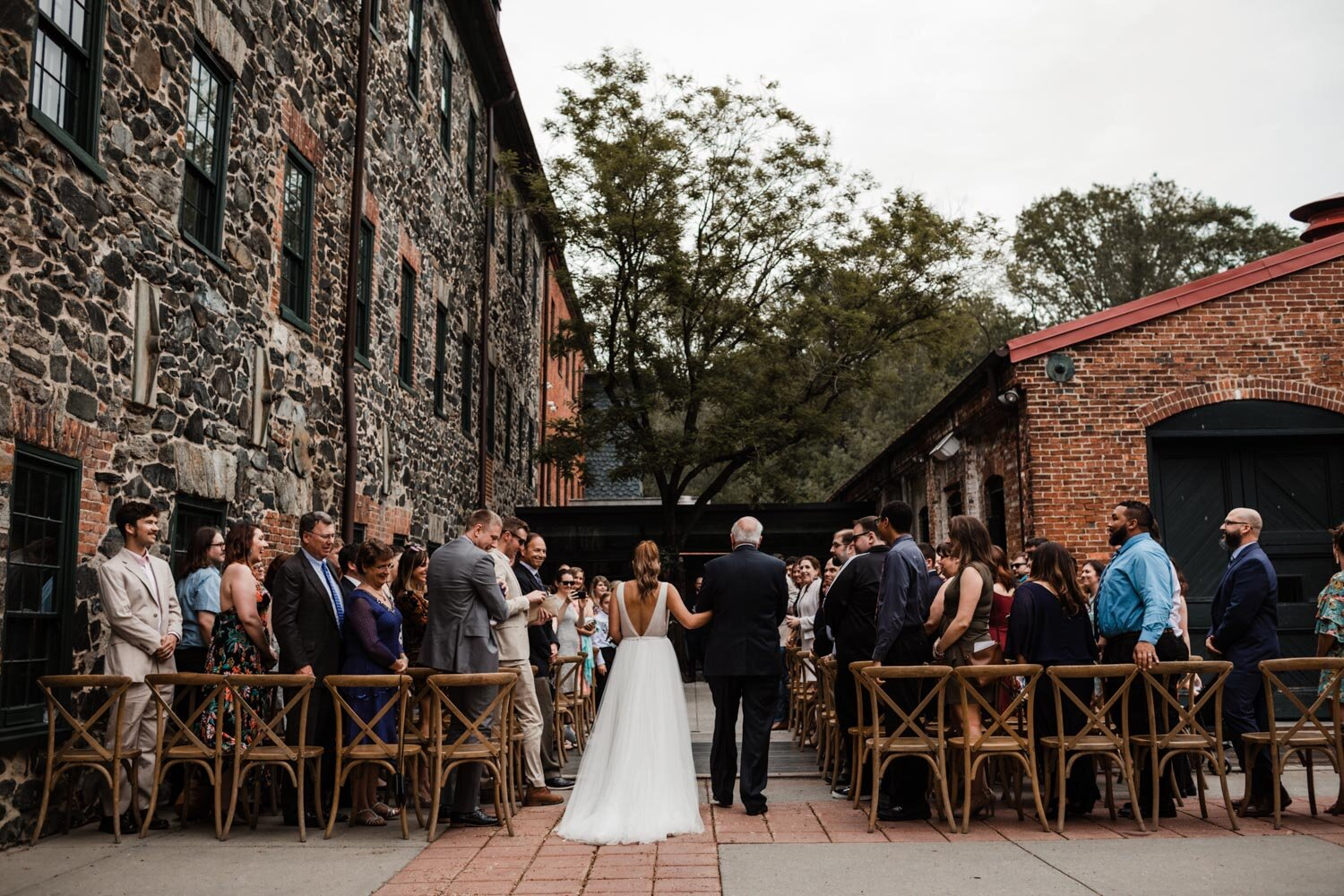 Mt Washington Mill Dye House industrial Baltimore wedding by Barbara O Photography-181.jpg