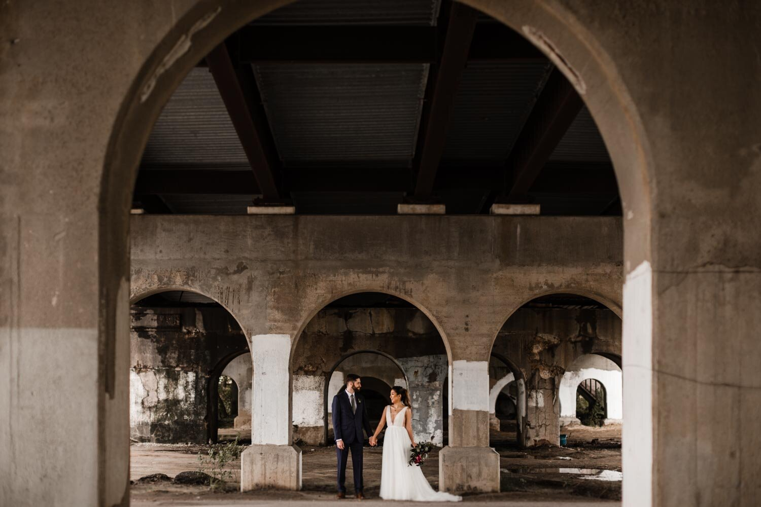 Mt Washington Mill Dye House industrial Baltimore wedding by Barbara O Photography-14.jpg