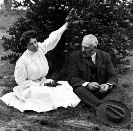 Mr & Mrs George L. Taber, Sr