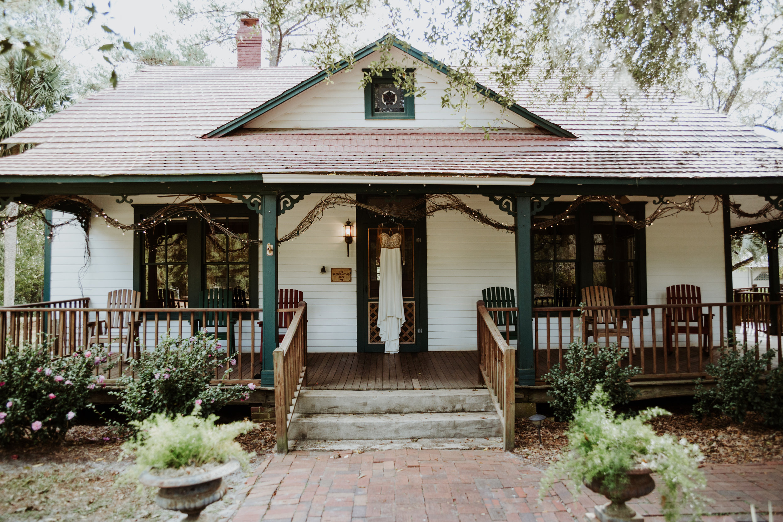 The Mathis House. Jacksonville Wedding Venue
