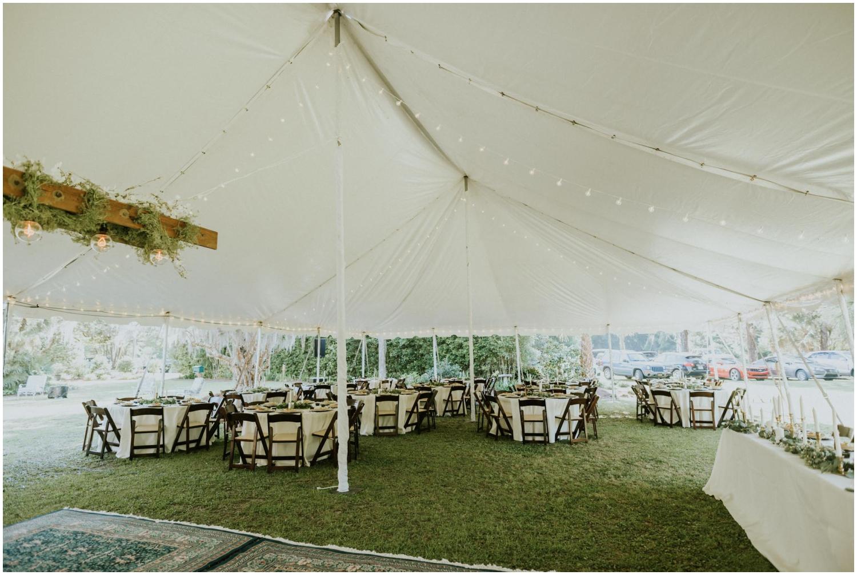 Wedding reception at The Glen Venue