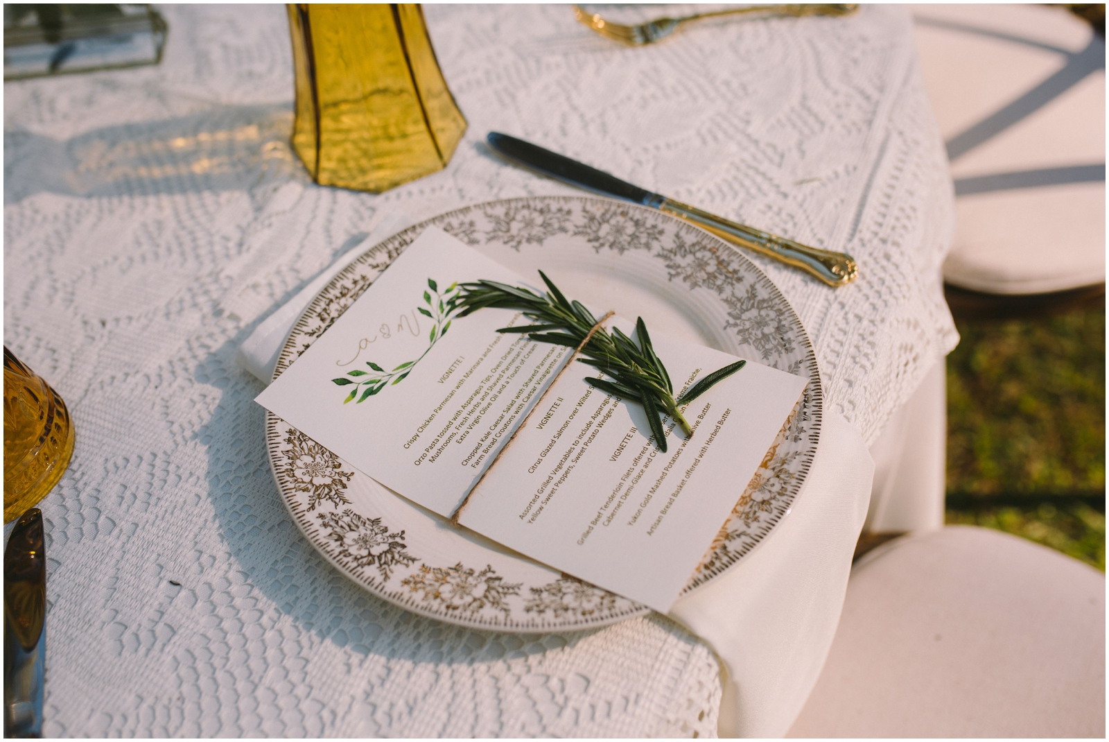 Wedding Table Set Inspiration