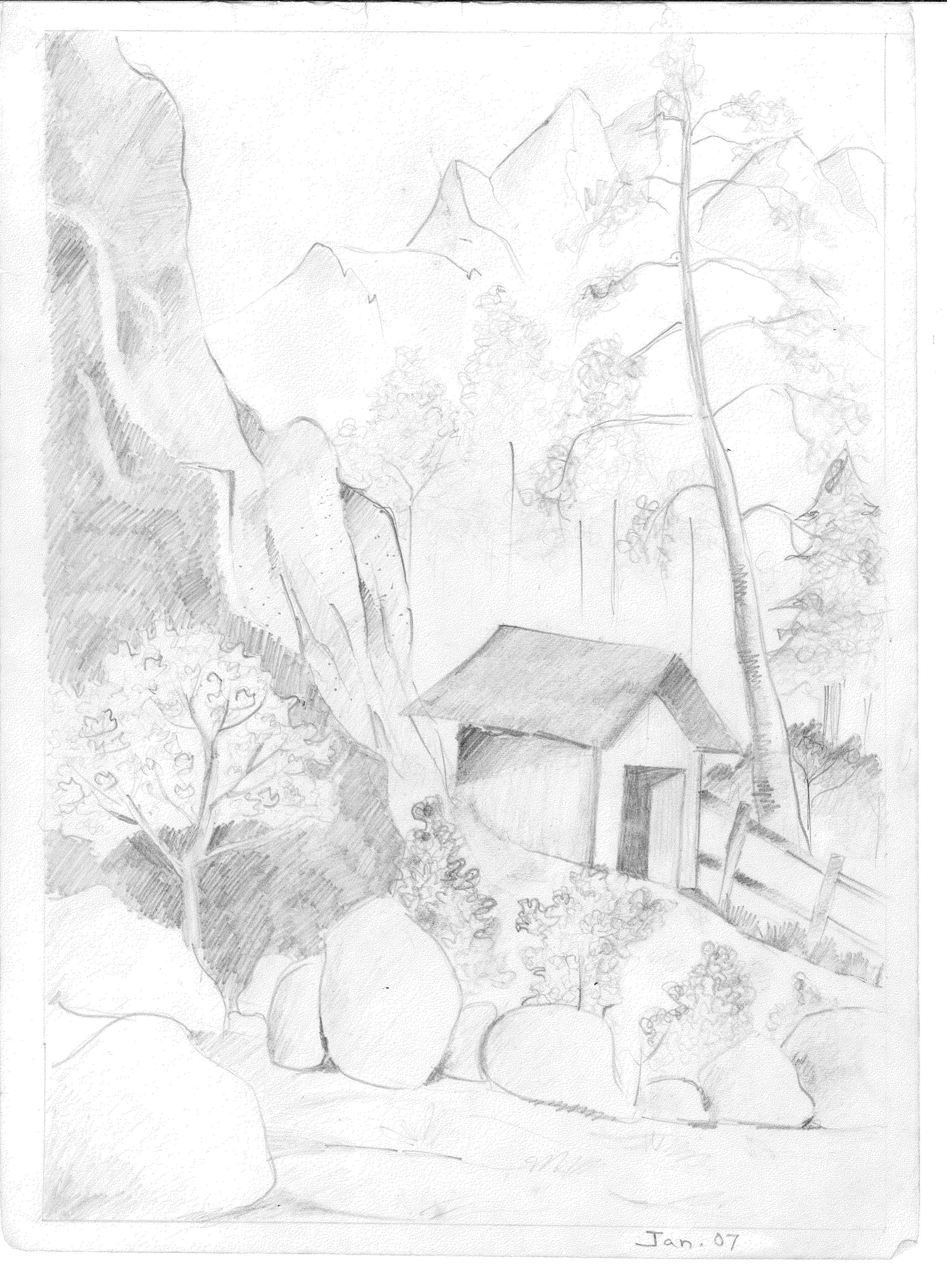 Sketch 2, Jan 2007