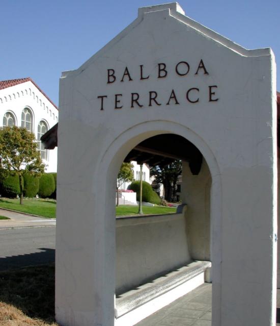 Balboa Terrace Bus Stop