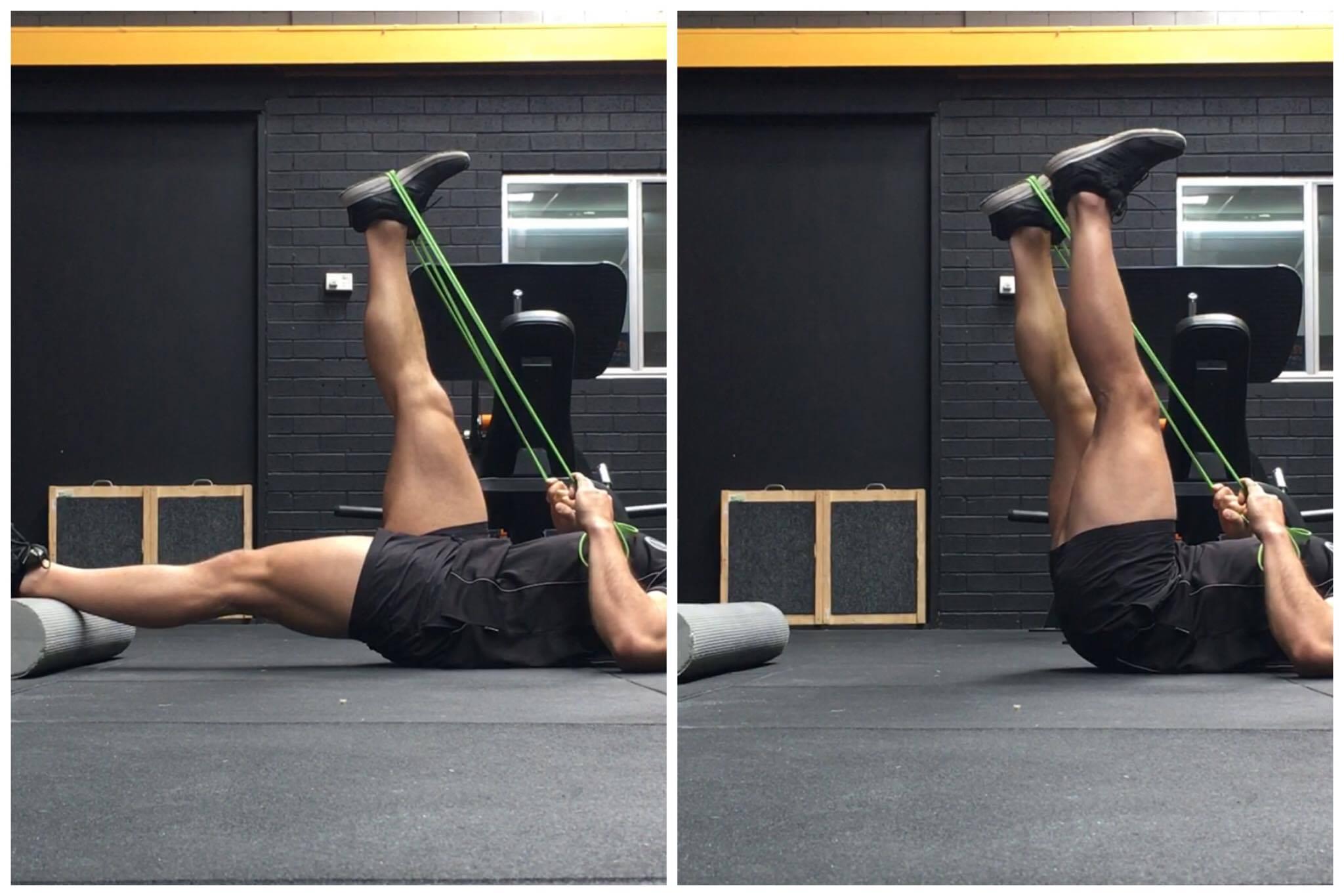 The 'Active Leg Raise' can help unlock some hidden hamstring mobility