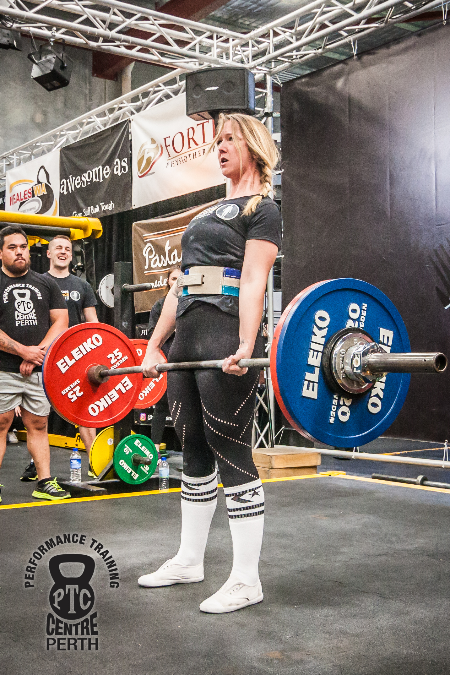 ' Bec had competed in her first Powerlifting competition within 9 months of starting at PPS