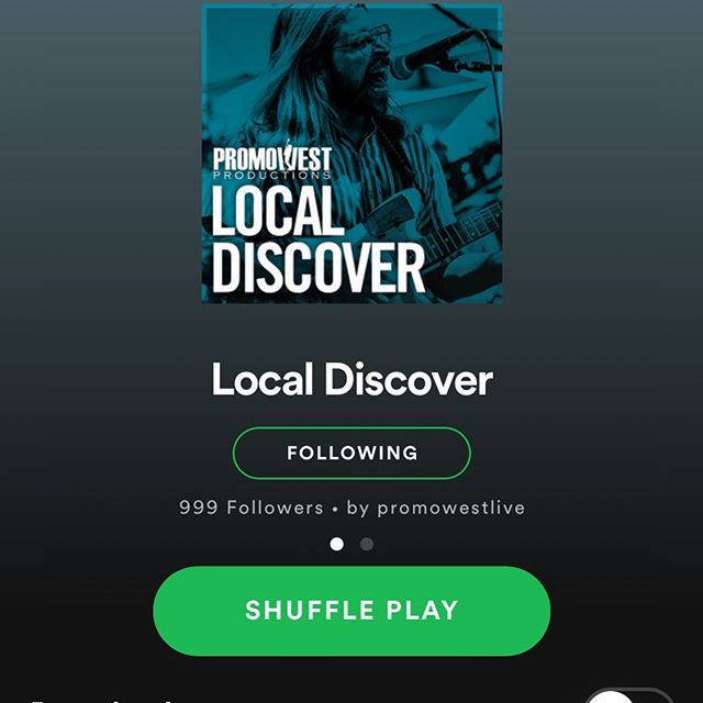 Check it out we're on this week's @promowestlive Local Discover playlist! See you this Saturday at Athens Community Arts & Music Fest. We're on at 7:00pm.