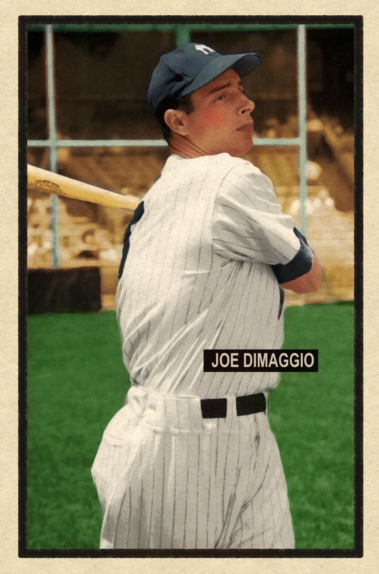 1951 BASEBALL STARS SERIES #61 JOE DiMAGGIO 3/6/17 Auction Closes at $135.50 USD - Current Poulation of 2