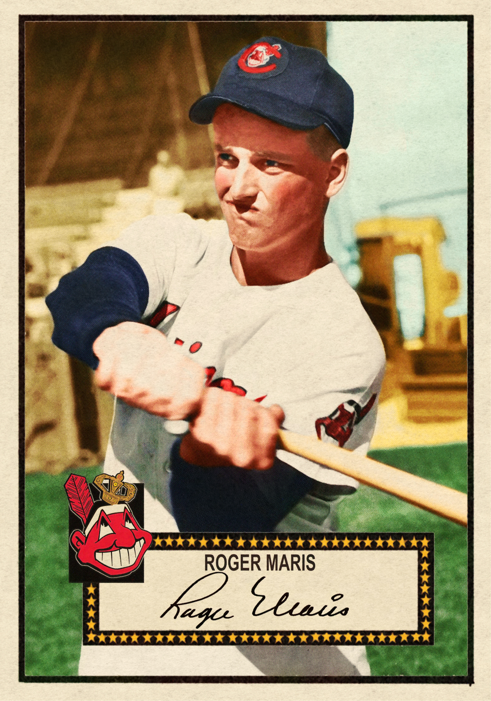 1952 BANTY RED BASEBALL STARS SERIES #152 ROGER MARIS - 1/20/17 Auction Closes at 181.49 USD - Current Population of 2