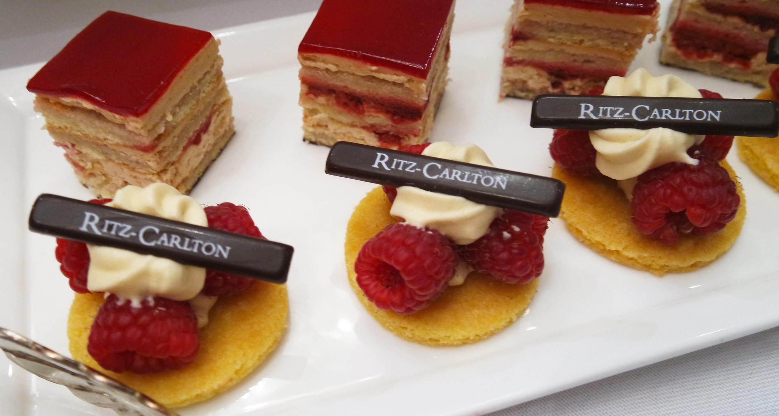 Ritz-Carlton dessert