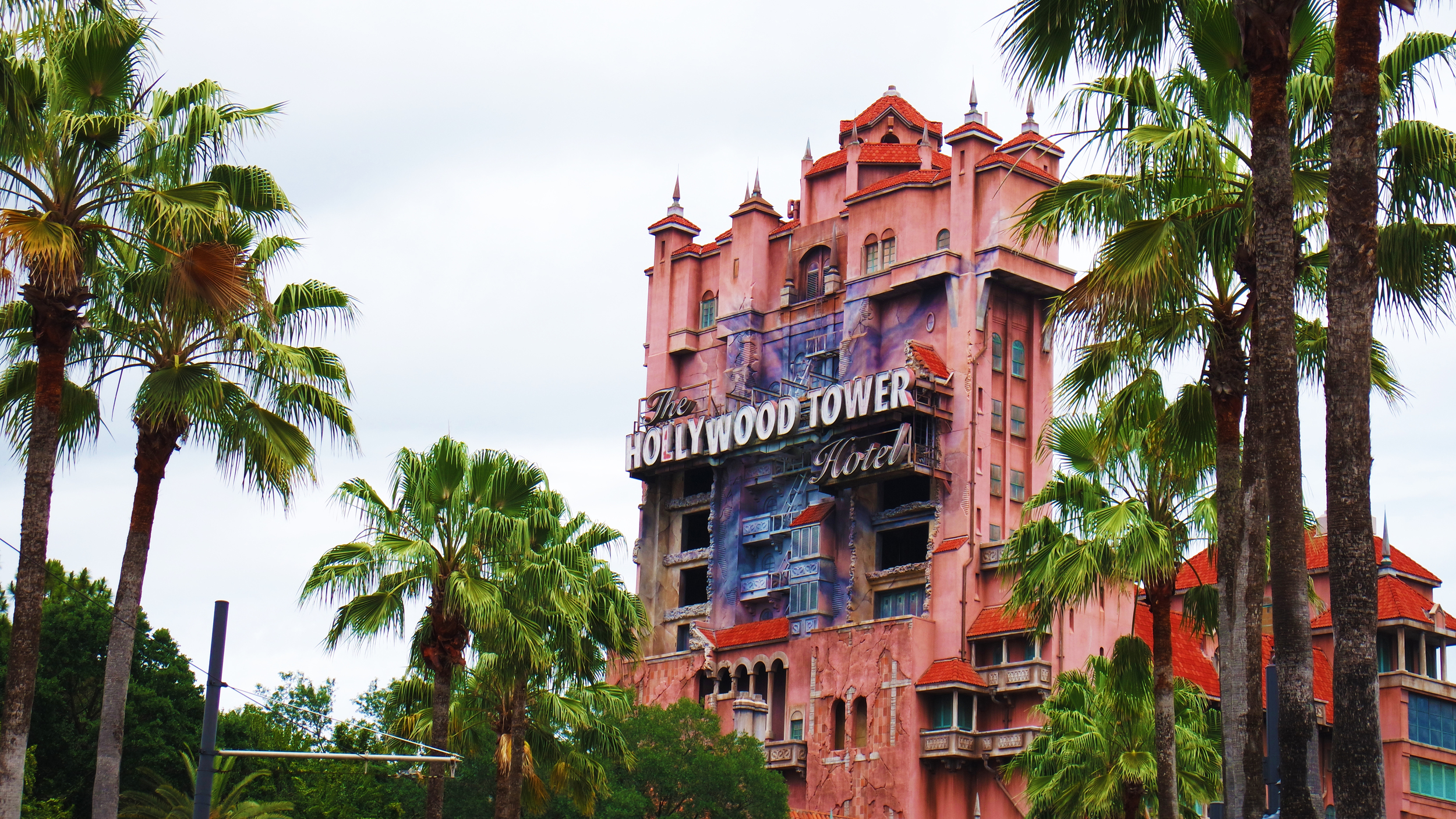 The Hollywood Tower Hotel was a really fun ride!