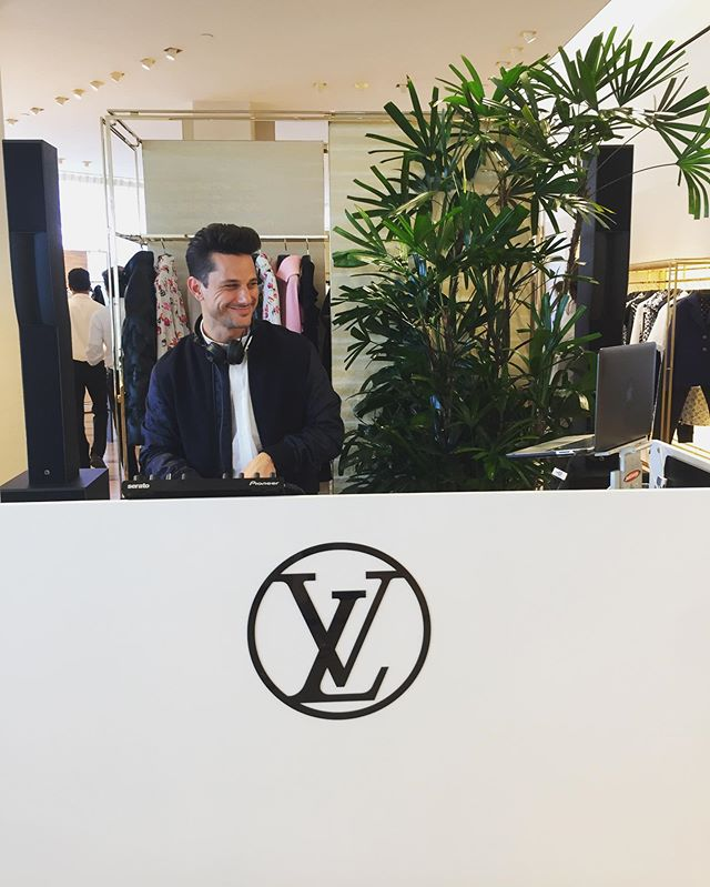 Big thanks to @louisvuitton for having me play their event yesterday!