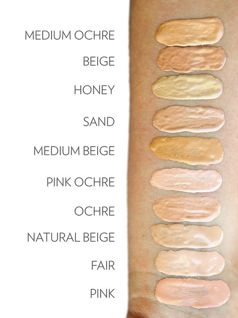 Choose the shade that's perfect for that daily, barely-there make-up.