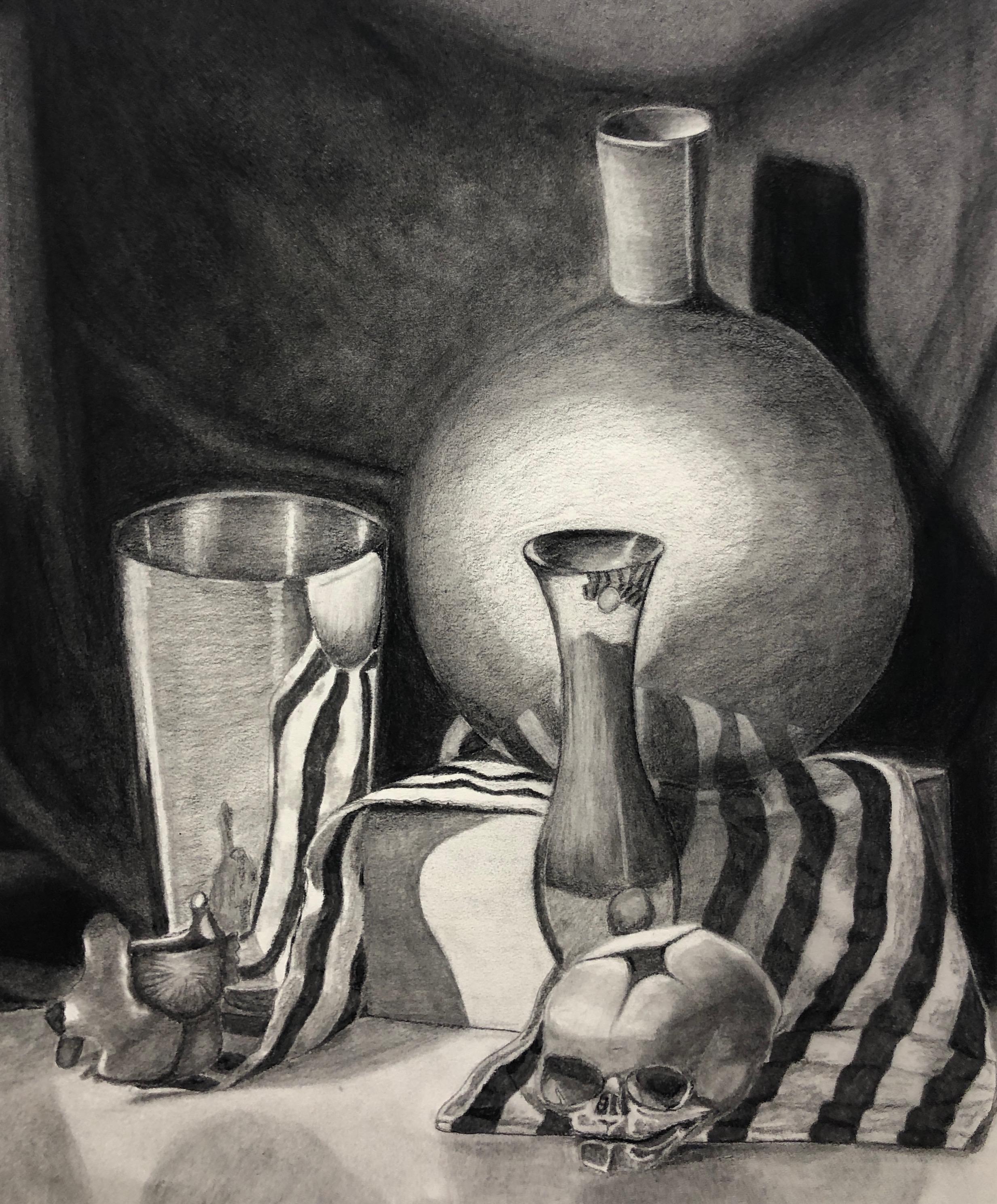 Charcoal- Still Life