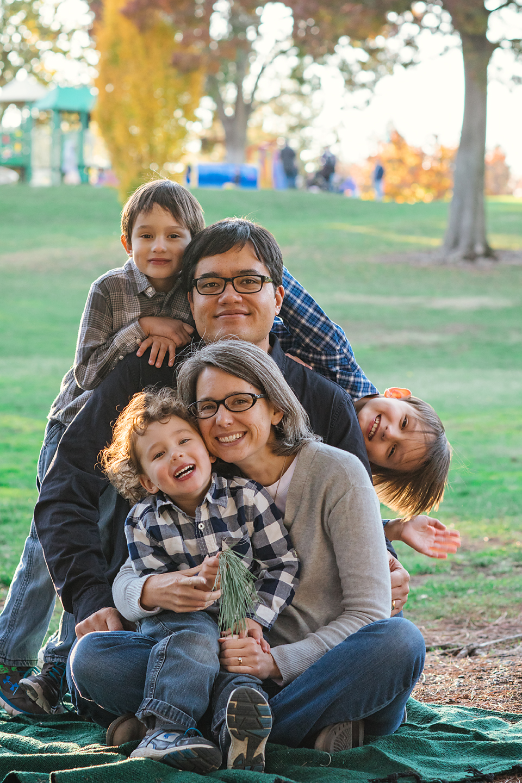 Walnut Creek Larkey Park Family Photography