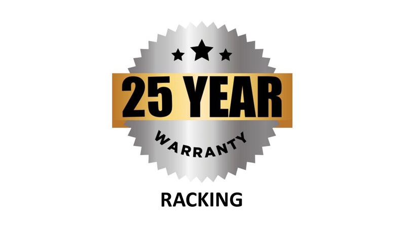25 Year Racking Warranty Badge