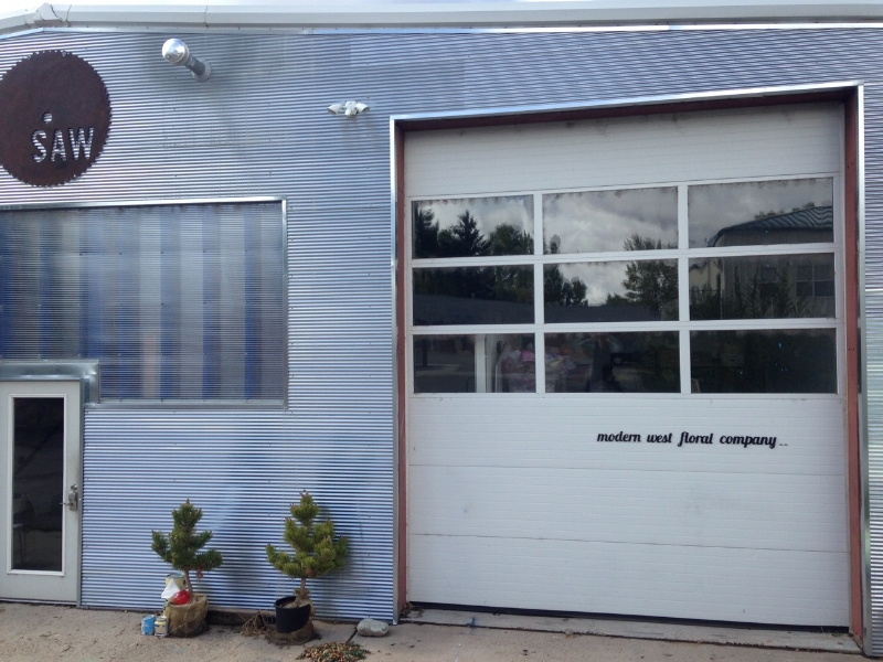 OUTSIDE view of our new space at SAW!