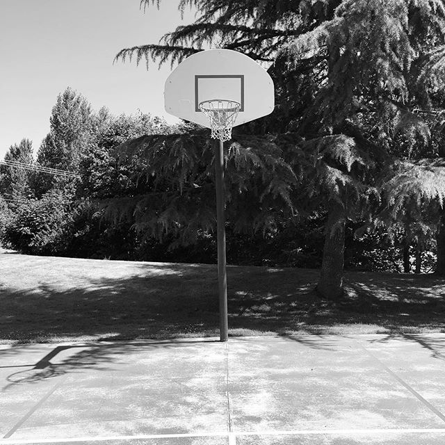 Mid Day Hoopin' • listening to that Jock Jams Volume 5 CD • @maxsweber @wyatthay where you at?