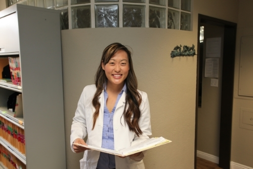 Dr. Shanna Chirco smiling for patients