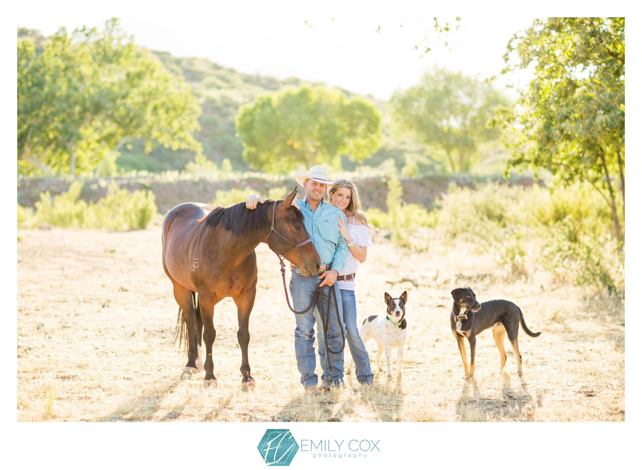 Payson Ranch Engagement | Sam & Colby