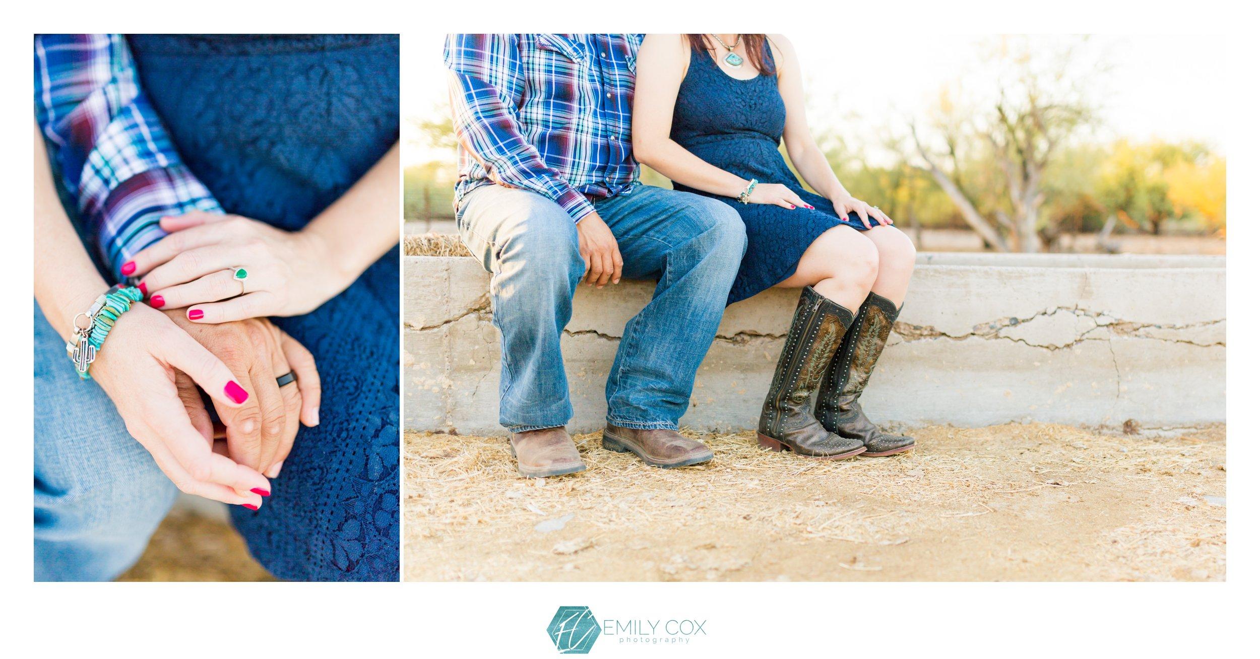 Arizona Ranch Engagement | Buckeye, Arizona