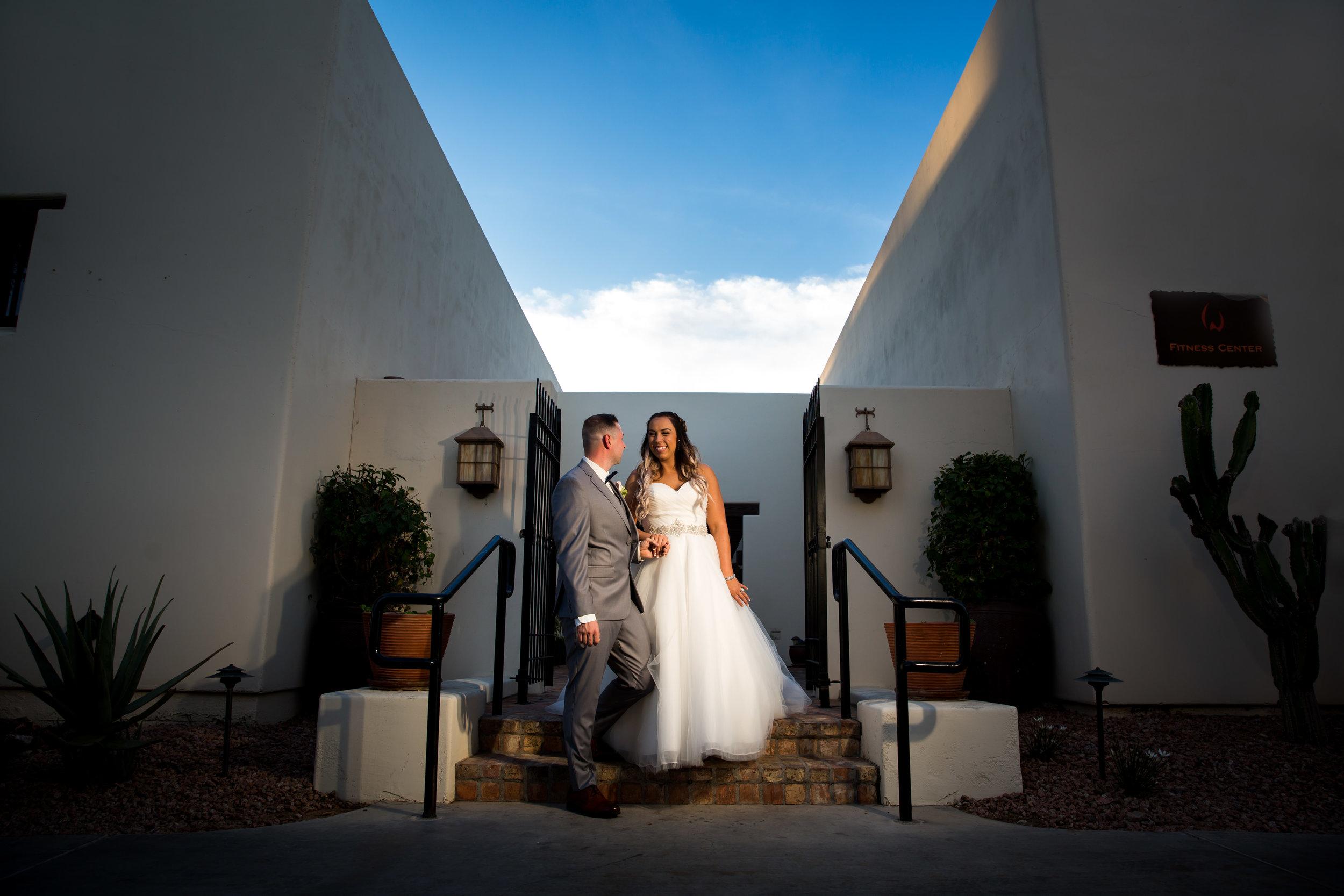 Intimate Wedding at the Wigwam Resort