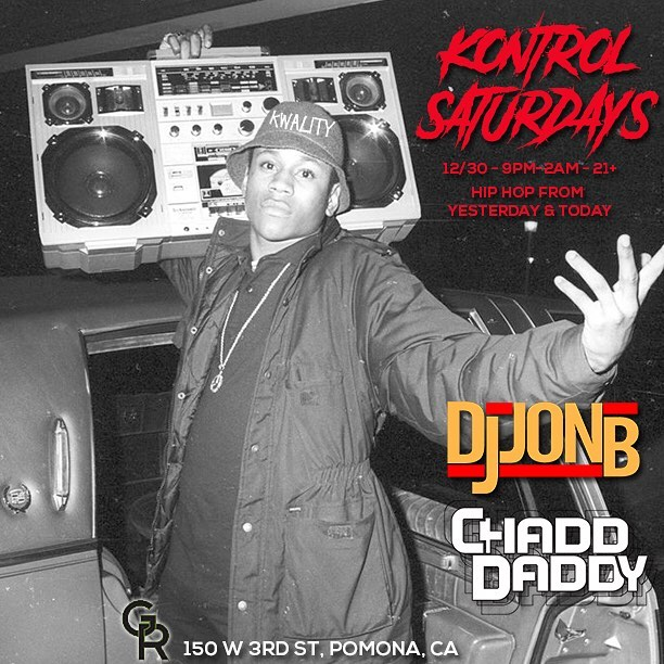 2NIGHT!!! Da homie @dj_jonb & I on zee ONES n TWOS... too LIT 2 Quit!!!!! 😎 #kwality #djs #goodmusic #goodtimes #dtpomona