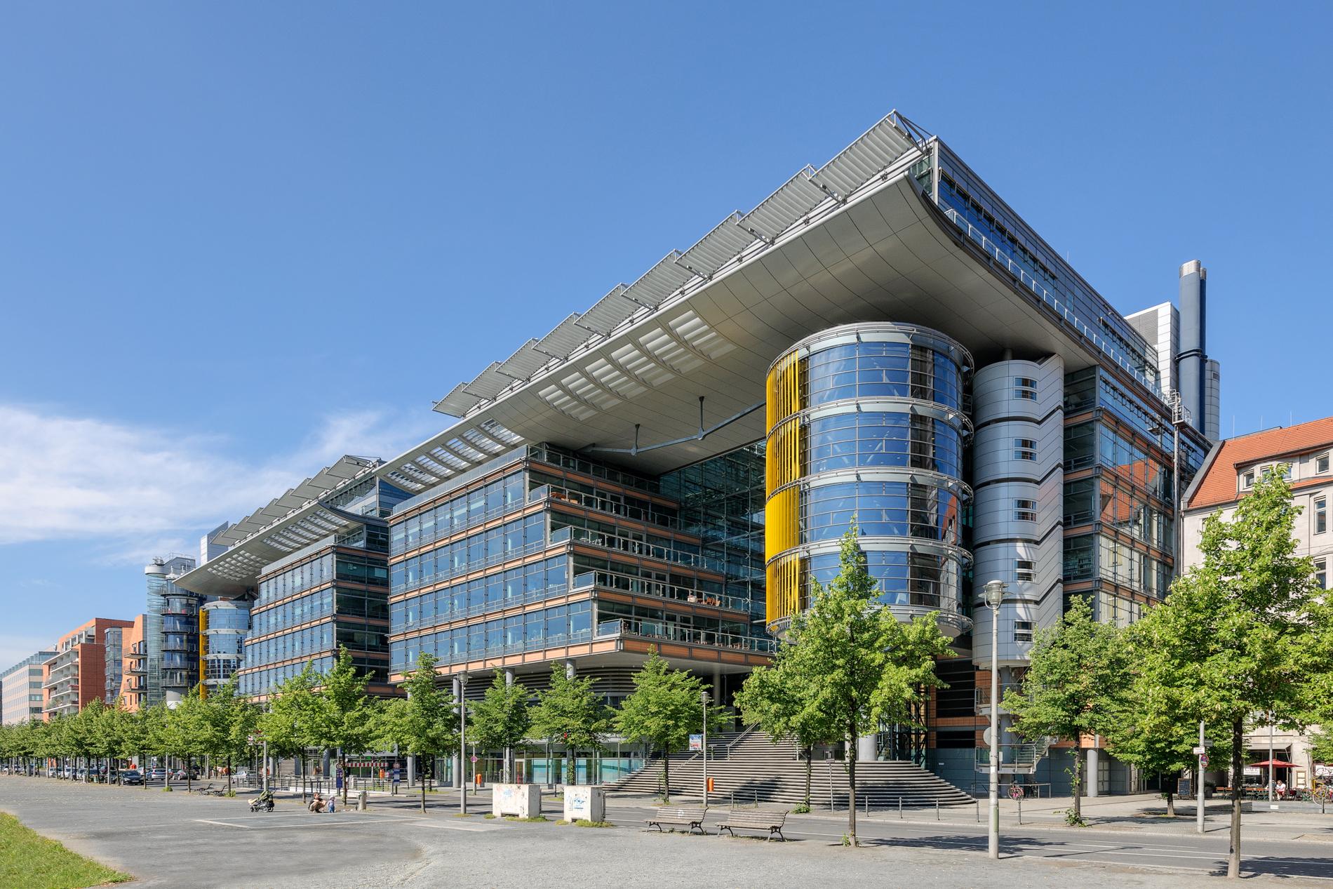 Office Buildings Street View   Potsdamer Platz