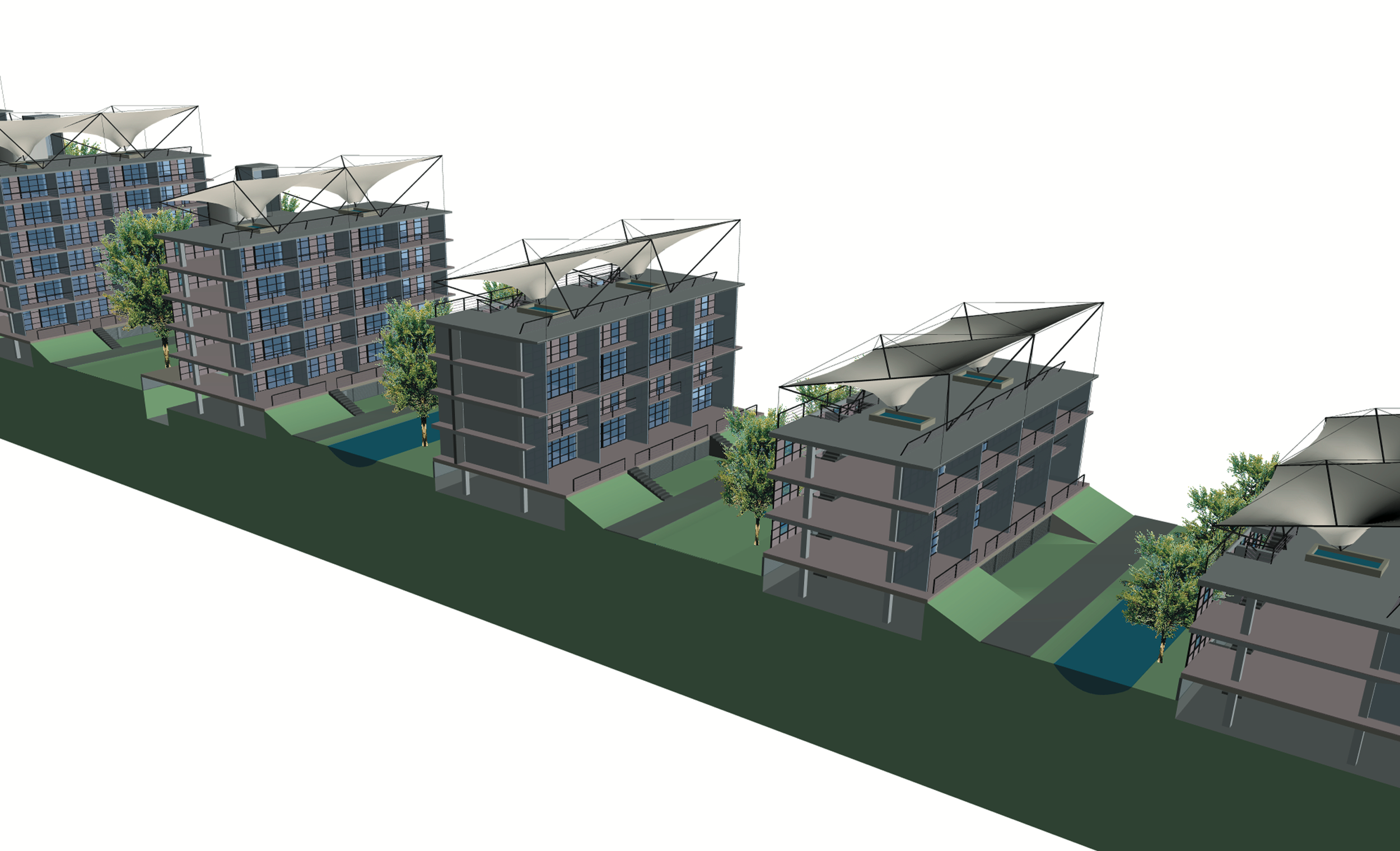 Climate Responsive Building Design | Shanghai 2000