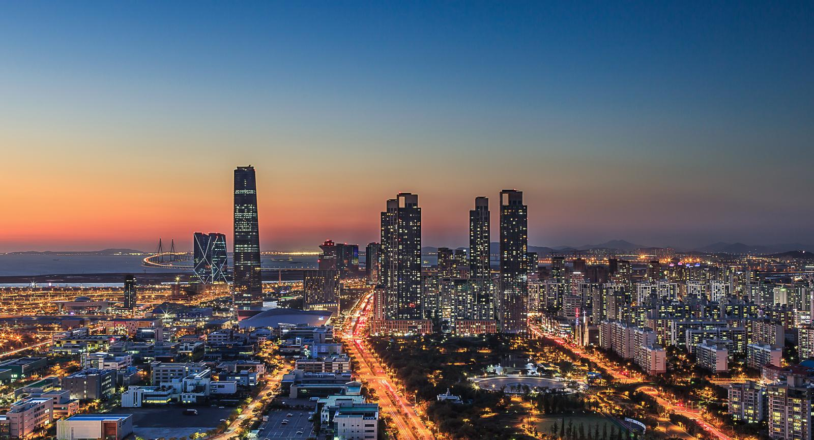 New Songdo City •South Korea