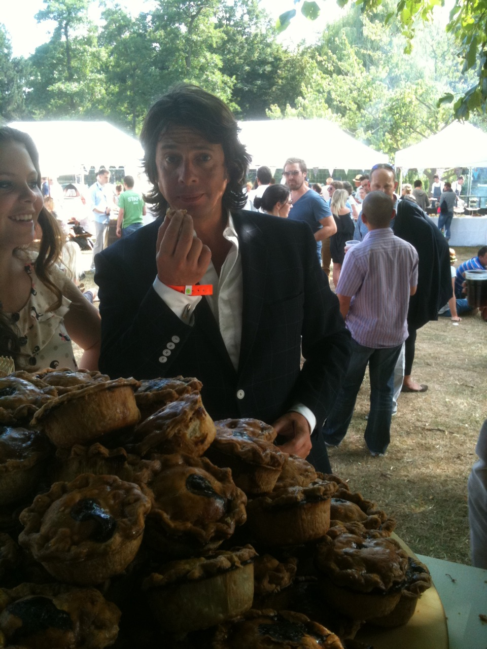 Celebrities love our pork pies
