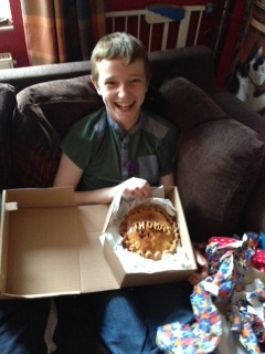 Birthday Celebration Pork Pie