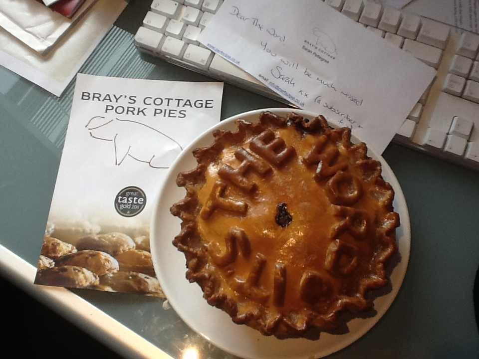 Celebration Pork Pie