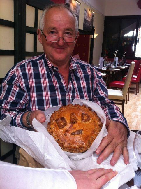 Father's Day Pork Pie