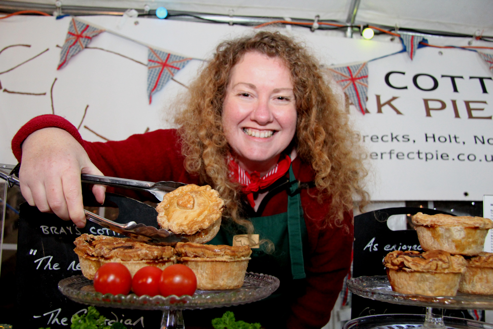 Sarah Pettegree, Pie Queen and founder of Brays Cottage Pork Pies