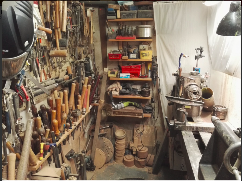 Andy's workshop
