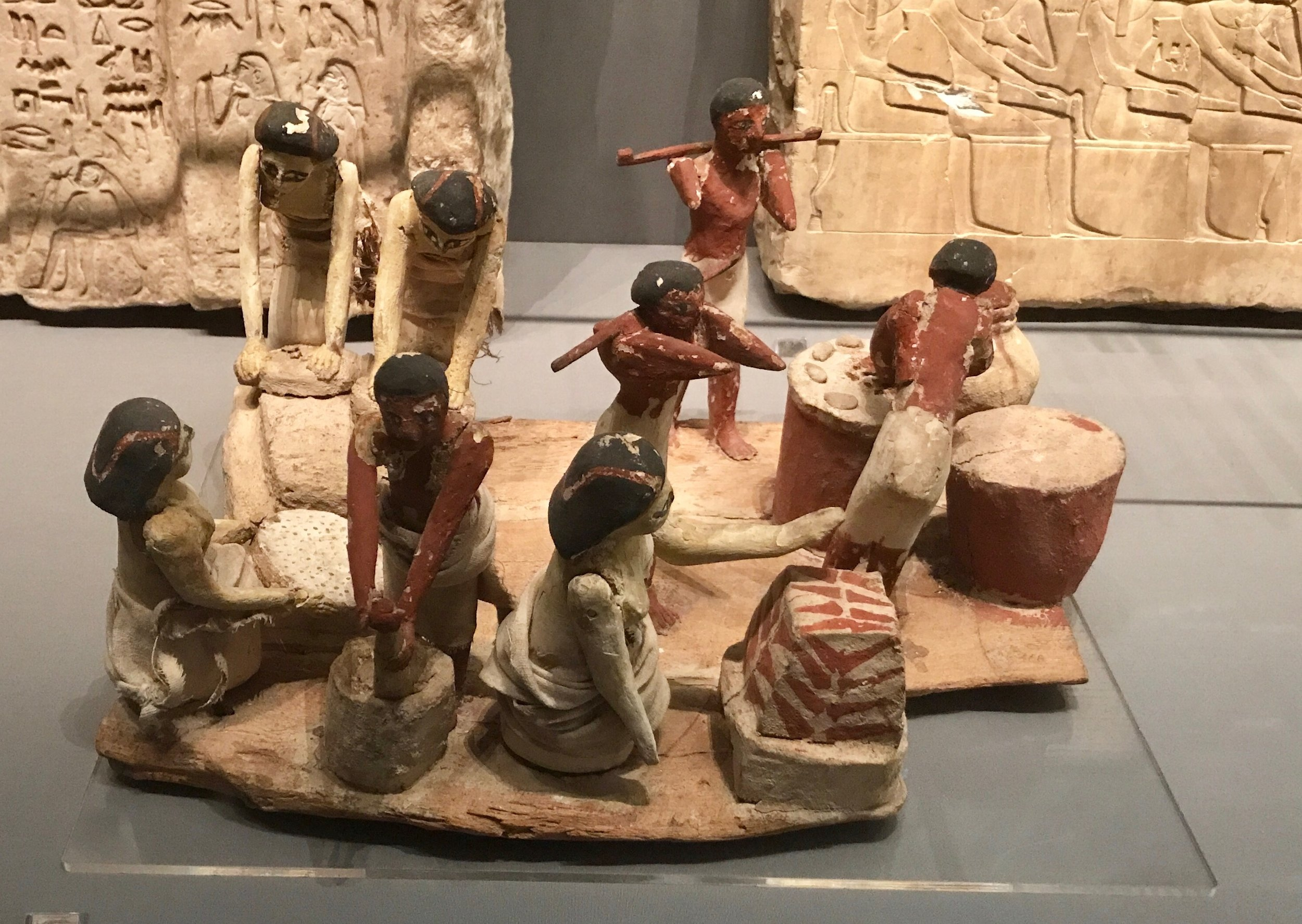 A well-staffed bakery 1950-1985 BC